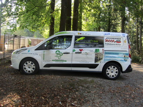 Tierheimauto Ford Tourneo Connect